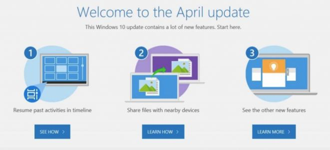 Windows 10 April Update est confirmé ?