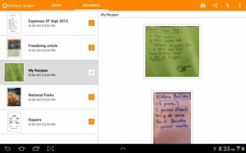 Comment scanner des documents sur Android ?
