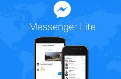 Messenger Lite:  la version allégée de la messagerie Facebook