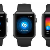 Shazam sur Apple Watch:  nouveau design, plus rapide et support de l'Apple Watch Series 3 4G