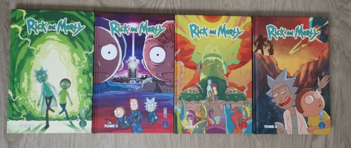 On a lu les BD Rick & Morty aux éditions HiComics