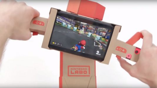 Le Nintendo Labo et Mario Kart décident de faire la course ensemble sur Switch
