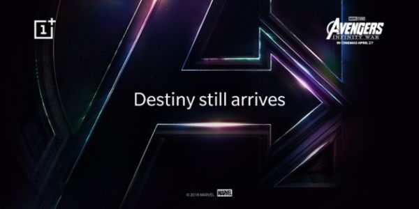 Le OnePlus 6 aura le droit à une édition spéciale Avengers Infinity War