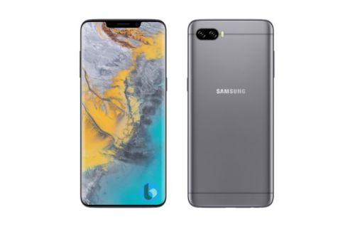 Samsung Galaxy S10:  un artiste l'imagine avec une encoche