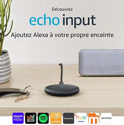 Amazon Echo Input à 24,99 euros !