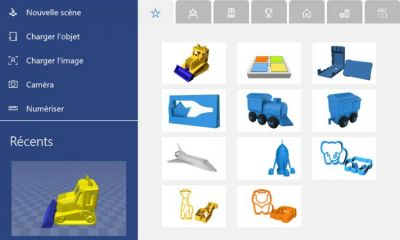 L'application Microsoft Print 3D est disponible sur Windows 10 Mobile