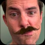 Real Mustache AR:  essayez la moustache sur iPhone / iPad