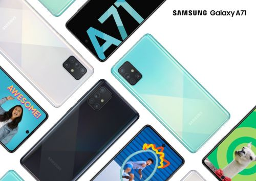 Samsung Galaxy A71 officialisé:  comme un air de Galaxy A51 Plus