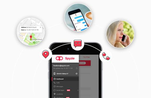 Spyzie:  mobile tracker et localiser un iPhone perdu