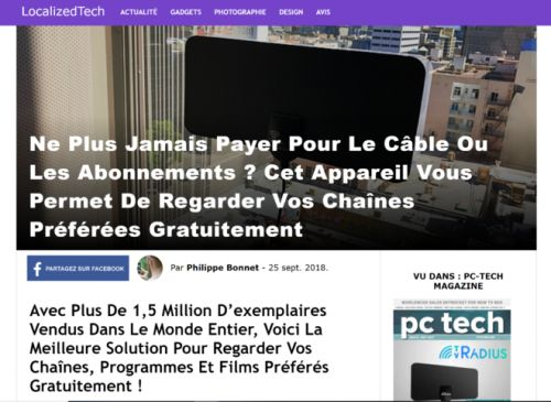 "L'antenne TV magique ou le business ""putaclic"" façon multinationale globale"