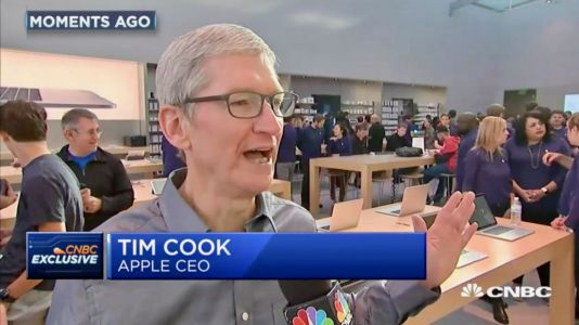 Vente de l'iPhone 8 et Apple Watch Series 3:  Tim Cook se dit très satisfait