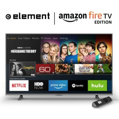 Amazon Fire TV Edition:  des TV UHD sous Fire OS, compatibles Alexa