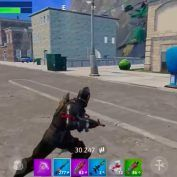 Fortnite:  15 minutes de gameplay sur iPhone