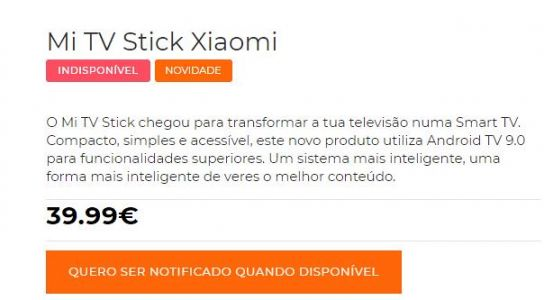 Le Xiaomi Mi TV Stick commercialisé à 39.99€ en Europe