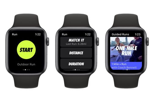 L'application Nike+ Run Club est maintenant optimisée pour l'Apple Watch Series 4