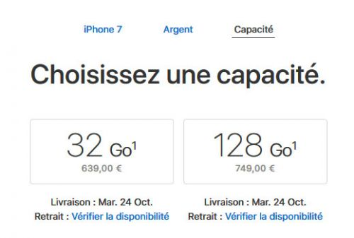 IPhone 8, Apple tue l'iPhone 7 256 Go dans l'espoir de booster les ventes