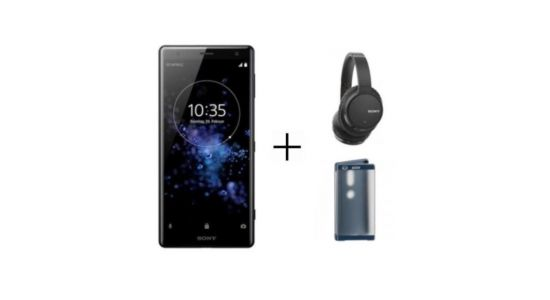 🔥 French Days:  pack Sony Xperia XZ2 et casque WH-CH700N à 427 euros