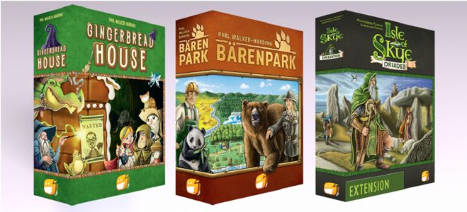 Gingerbread House, Bärenpark, Druides sont disponibles