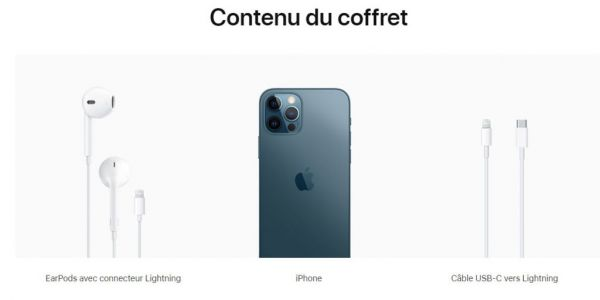 IPhone 12, pourquoi son bundle comprend des EarPods en France ?