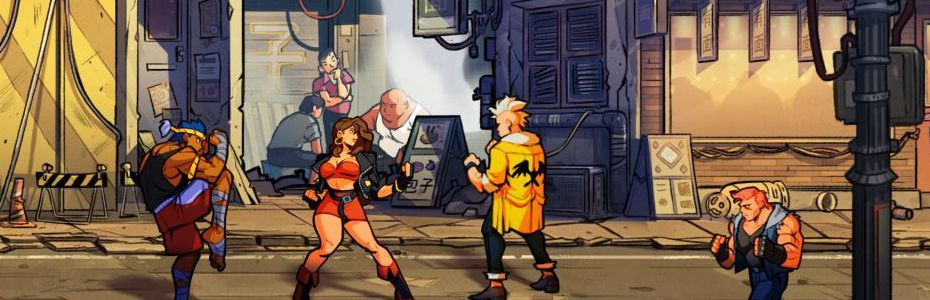 Preview - On a multiplié les pains dans les rues de Streets of Rage 4