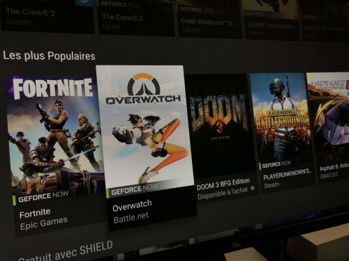 Nvidia Shield TV:  nous avons joué à Fortnite, PUBG, Overwatch. sur GeForce Now