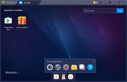 BlueStacks 4, un émulateur Android sous PC