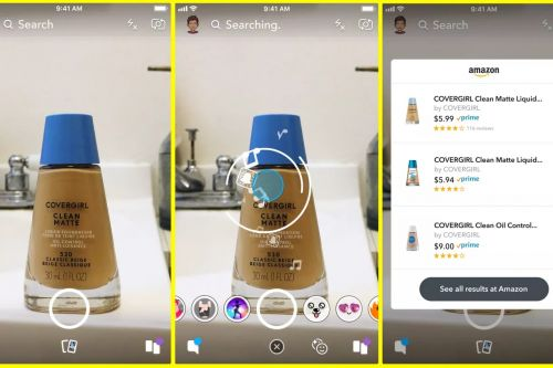 Snapazon:  Snap lance le shopping visuel avec Amazon