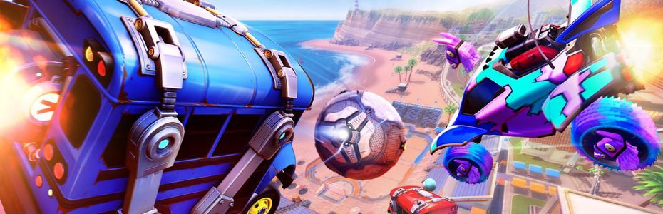 Epic Games organise un événement croisé Fortnite x Rocket League