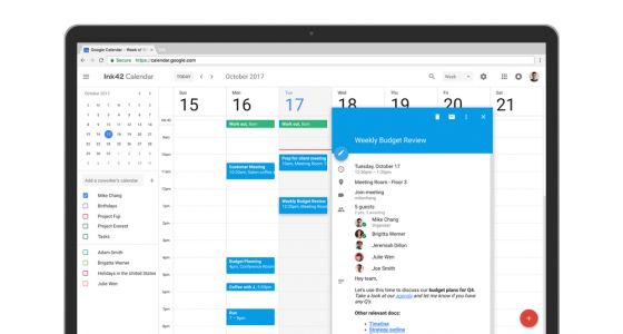 Google Agenda améliore l'interface de sa la version web