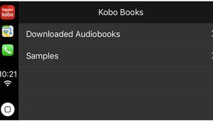 Kobo, le nouveau salon de lecture sur CarPlay
