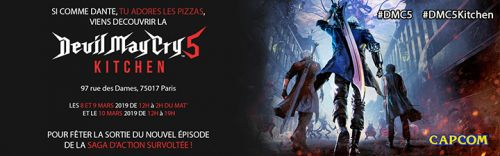 Capcom France annonce l'ouverture de la Devil May Cry 5 Kitchen à Paris