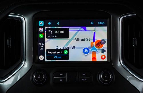 Waze compatible et disponible sur Apple CarPlay