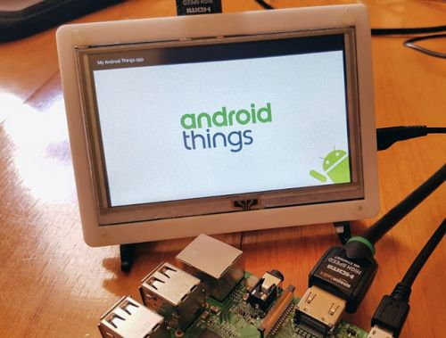 Android Thing:  redirection stratégique vers les fabricants