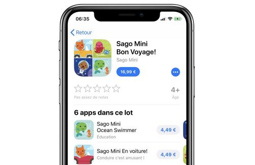 Les lots d'applications arrivent sur le Mac App Store