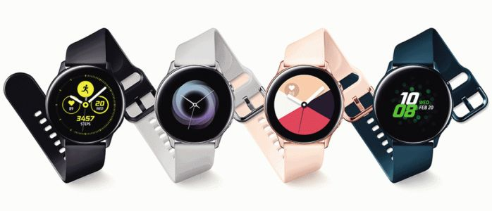 Samsung dévoile la Galaxy Watch Active