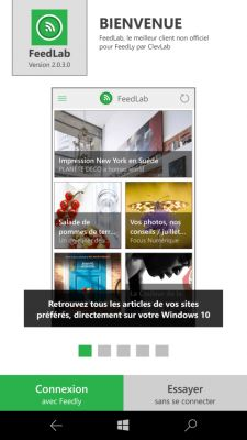 Made in France:  FeedLab, LE client Feedly pour Windows 10