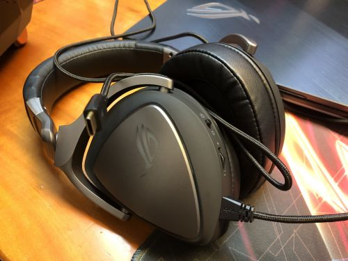 Asus ROG Delta USB Type-C:  le casque audio universel du mobile à l'ordinateur