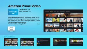 Amazon Prime Video maintenant disponible sur Apple TV