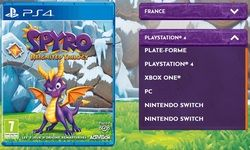 Spyro Reignited Trilogy:  des versions PC et Switch sur le site officiel, que se passe-t-il ?