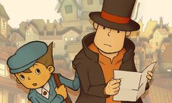 Professeur Layton et l'Étrange Village:  un portage sur Switch en fuite
