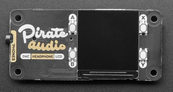 Pimoroni Pirate Audio, un DAC pour transformer un Pi en lecteur MP3