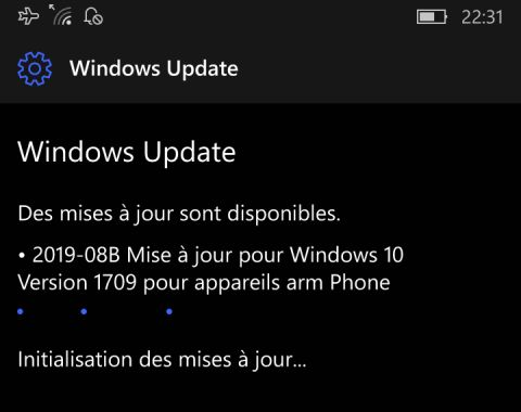 Les mises à jour de Windows Mobile continuent