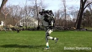 Vidéo : le robot Atlas de Boston Dynamics se met à la course