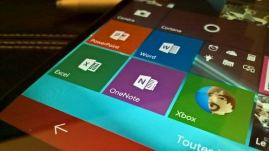Windows 10 Mobile:  les applications Office supportées jusque 2021