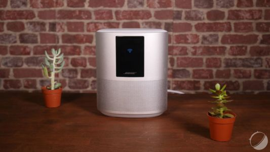Test du Bose Home Speaker 500:  la qualité du son Bose, mais pas l'intelligence d'Alexa