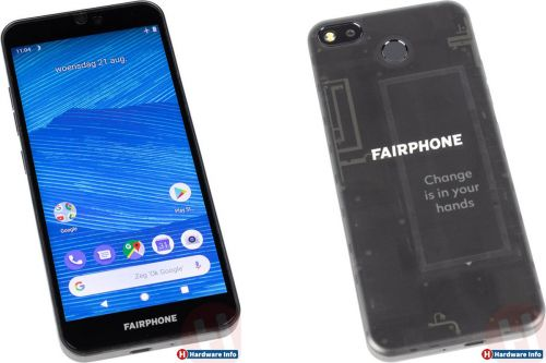 Fairphone 3:  le smartphone durable se montre en photos
