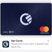 Apple Pay maintenant disponible chez Curve et TransferWise