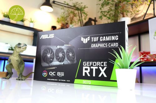 TUF Gaming GeForce RTX 3070 OC Edition 8G, le test complet