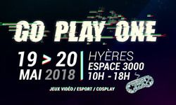 Go Play One 10 - Votre sortie geek & gaming incontournable de ce week-end !!!