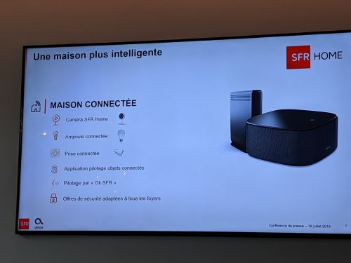 SFR officialise sa Box 8:  WiFi 6, assistant connecté avec Alexa, Dolby Vision et Dolby Atmos